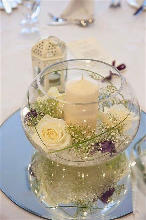 adornos de mesa para bodas con velas 12 centros de mesa para bodas florales sencillos y econ 243 micos