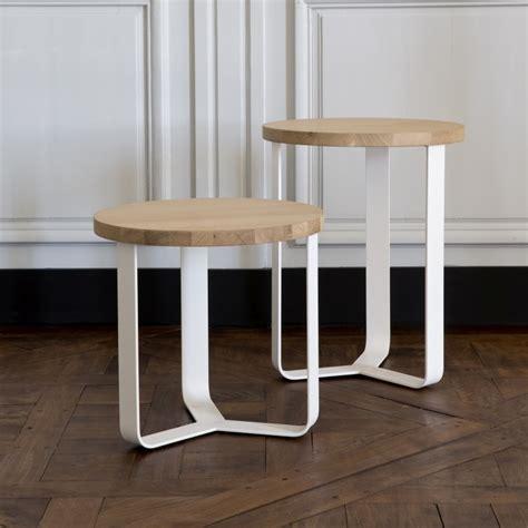 Table De Nuit Design Bois by Table De Nuit M 233 Tal Bois Design Lola Amobois