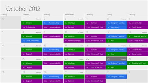 What Calendar Is On Windows 8 Windows 8 Review Digital Trends