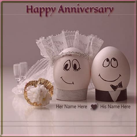 Wedding Anniversary Greeting Cards With Names by Generate Happy Wedding Anniversary Name Pics