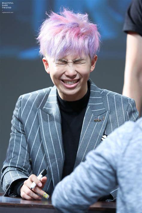 kim namjoon pink 17 best images about kim namjoon rap monster bts on