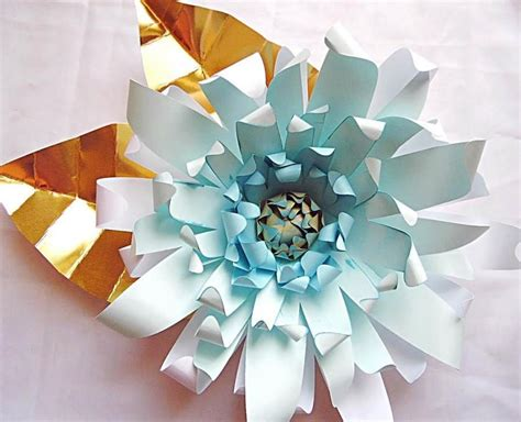 giant diy paper flower templates with instructions paper