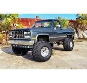 1987 CHEVY CHEVROLET GMC Silverado K5 Blazer K10