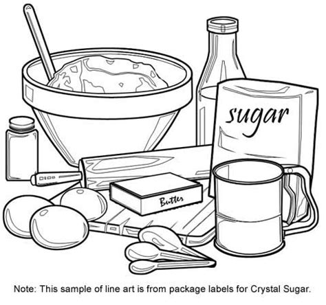 coloring pages for kitchen utensils cooking utensils drawing for kids crowdbuild for