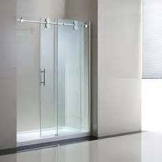shower glass doors lowes shop ove decors sydney 56 in to 58 in w x 78 7 in h