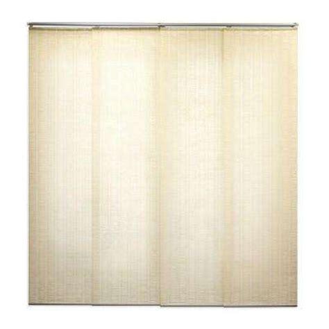 Panel Blinds Home Depot sliding panel track blinds blinds window treatments