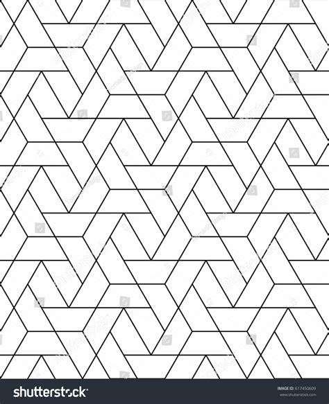 geometric pattern repeats seamless geometric pattern repeating vector motif stock