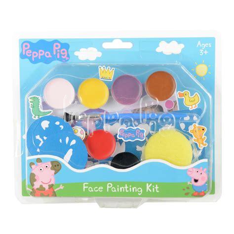 peppa pig painting kit at wilko