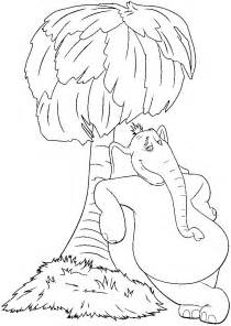horton hears a who coloring pages free coloring home