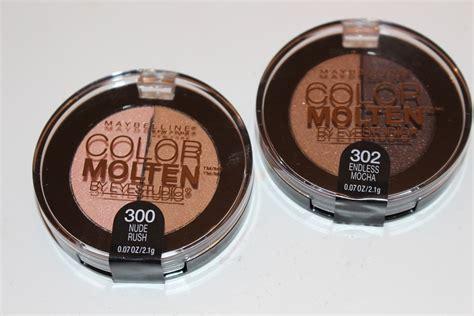 Eyeshadow Maybelline Color Maybelline Color Molten Powder Eyeshadows Review