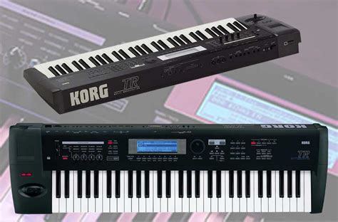 Keyboard Korg Tr sold korg tr 61 workstation synth