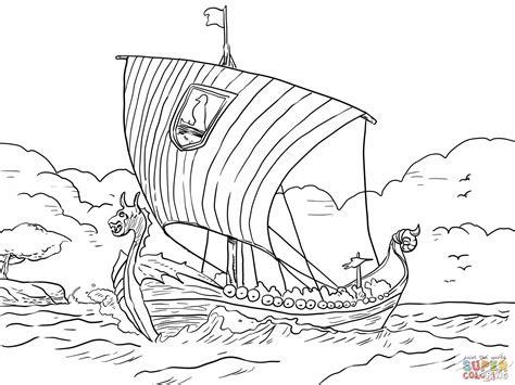 viking cartoon coloring page vikings pinterest the o vikings coloring pages longship viking sea vessel