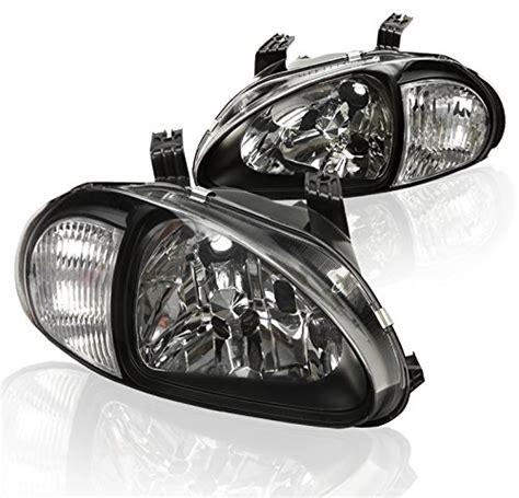 del sol headlight honda replacement headlights