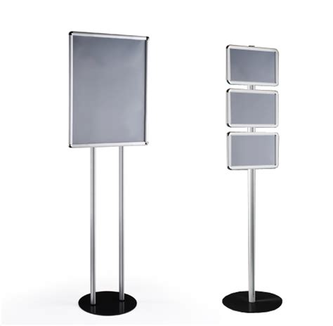 Site Plan Drawing Online totem display frame stands free standing display boards