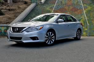 Nissan Optima 2017 Nissan Altima 2 5 Sv Test Review