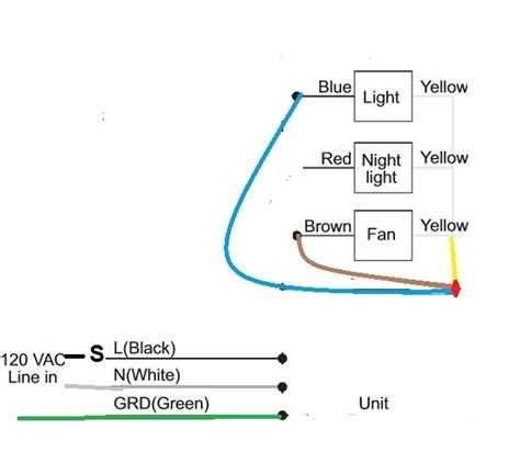 hton bay ceiling fan wiring diagram switch wiring diagram