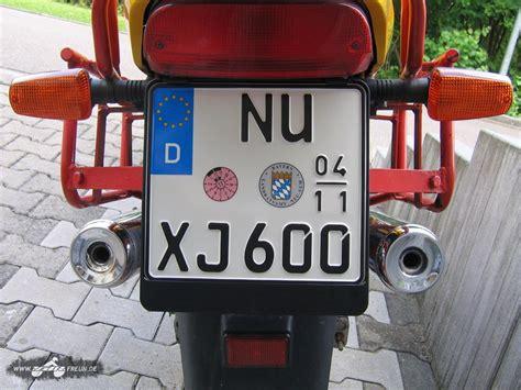 Kennzeichenhalter Motorrad Montieren by Kennzeichen Anbringen Bandit Gastbereich Motorrad