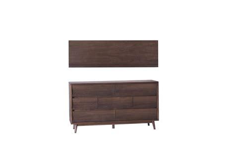 mid century dark walnut dresser silver lake mid century concave 7 drawer walnut dresser
