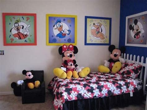mickey mouse bedroom curtains kids bedroom decor with mickey mouse cartoon theme baby