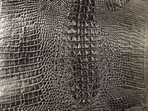 Crocodile Upholstery Fabric black upholstery faux leather vinyl fabric embossed alligator crocodile ebay
