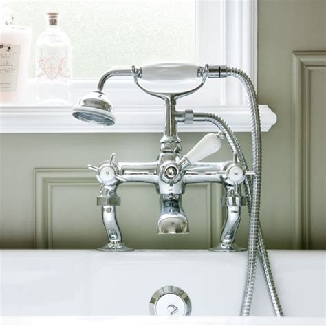 shower fitting for bath taps traditional shower mixer tap be in inspired by this bathroom makeover with period