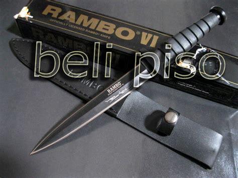 jual pisau rambo iv ahli pisau