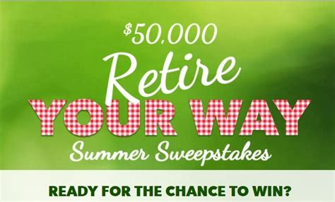 Enter To Win Money Online - enter to win cash in summer sweepstakes online from aarp 50k retire your way