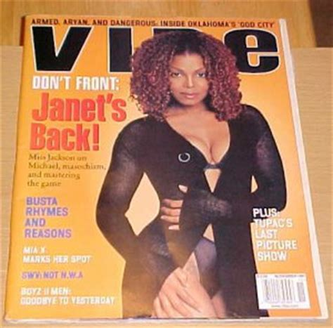 Janet Jackson In Vibe Magazine by Sold In Lot Vibe Magazine November 1997 Janet Jackson