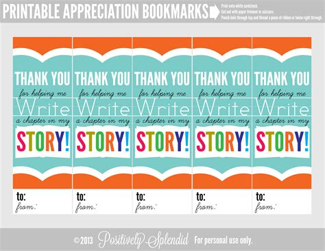 printable bookmarks for volunteers appreciation bookmark sheet click link or image below to