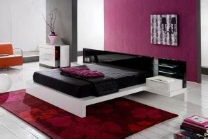 dominance in the bedroom modern bed with a dominance of red color in the bedroom
