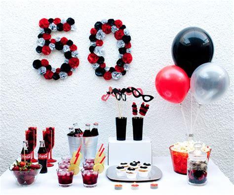 50 cumplea 241 os en colores blanco negro y rojo