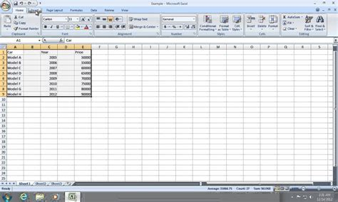 Excel Spreadsheet To Graph by How To Create Excel 2007 Chart With 2 Y Axis Or X Axis