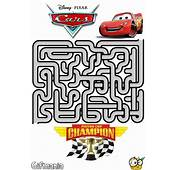 Lightning McQueen Maze Activity Page
