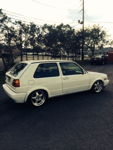 volkswagen hatchback 1990 find used 1990 volkswagen golf gl hatchback 2 door 1 8l in