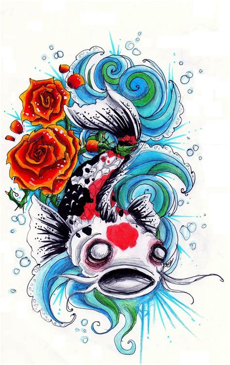 beautiful koi fish tattoo designs koi fish splashing images