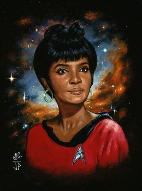 who was the original actress in a star is born woman of star trek uhura by melanarus on deviantart