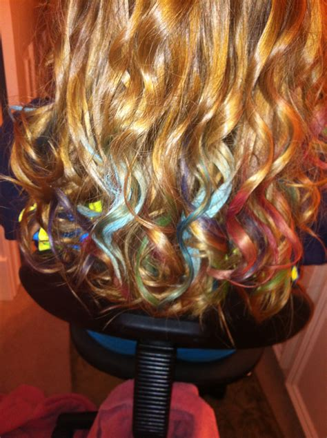is hair chalk over hair chalking i used artist s loft soft pastels from