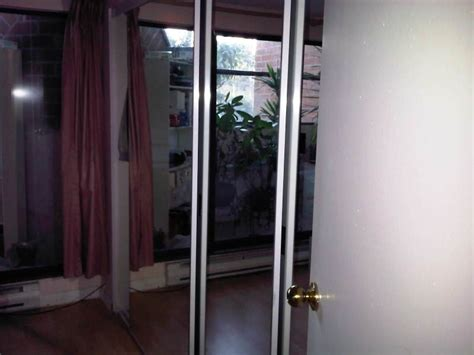 Closet Door Mirror Replacement Replace Sliding Mirror Closet Doors Home Improvement