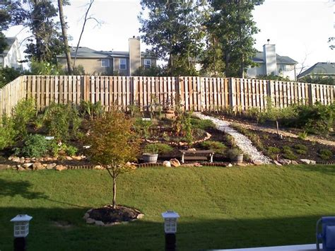 Steep Sloped Backyard Ideas by Steep Sloped Back Yard Landscaping Ideas Should We