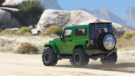 Gta 3 Auto Tuning by Jeep Wrangler Unlimited 3 Door Jk 2013 Add On Tuning