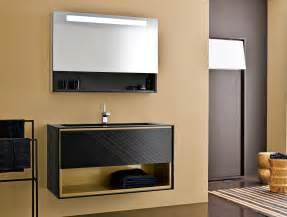 designer bathroom vanities frame fr6 modern italian designer vanity in black lacquered wood