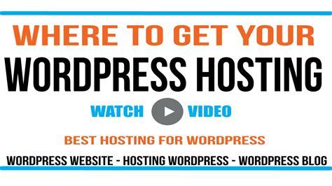 tutorial wordpress hosting wordpress hosting tutorial best hosting for wordpress