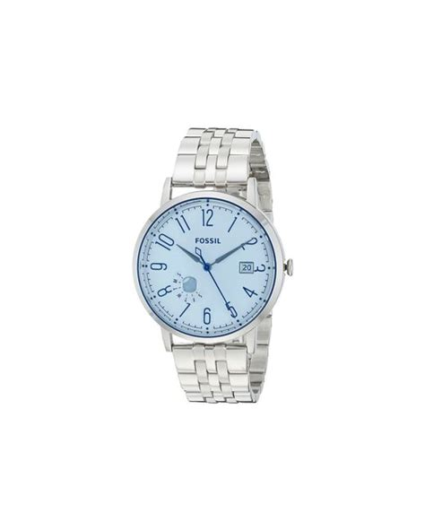 Fossil Vintage Muse Blue Stainless Steel Es3994 fossil vintage muse es3967 in silver lyst