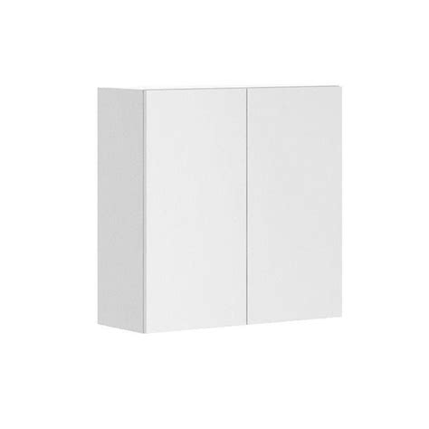 white melamine cabinet doors fabritec 30x30x12 5 in alexandria wall cabinet in white melamine and door in white w3030 w