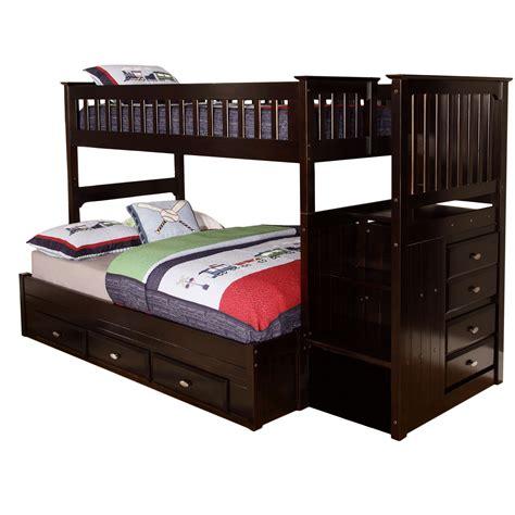 viv rae kaitlyn twin  full bunk bed reviews wayfair