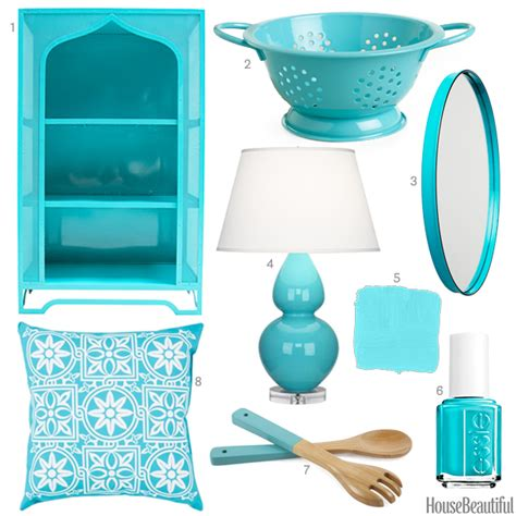 blue home decor accessories caribbean blue accessories aqua home decor