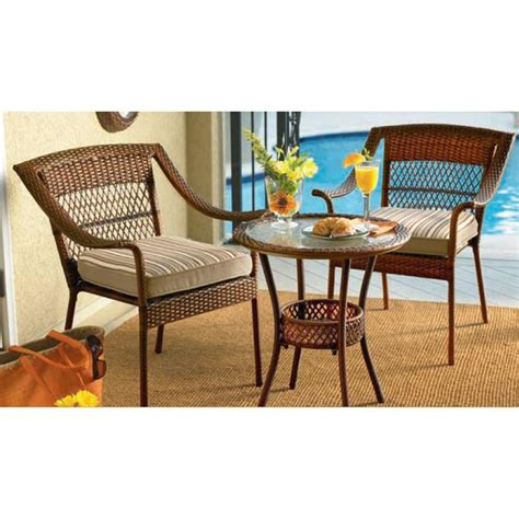 ty pennington patio furniture ty pennington style 65 51081 mayfield 3 pc bistro set sears outlet