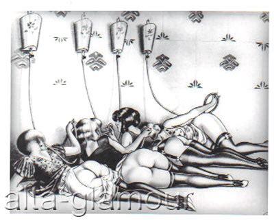 Erotic enema sex drawings