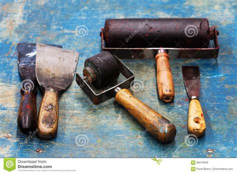 art pattern and knife leicester man in black with tools royalty free stock photo