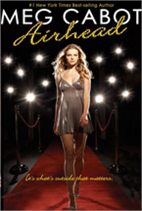 Novel On Meg Cabot 1 airhead series author meg cabot
